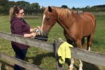 Leigh with horse small 150x100 - Leicestershire horse therapy centre in lockdown scoops £230,000 National Lottery grant