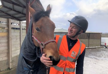 Will and his horse Jimmy 360x245 - Equestrian stars Will Whitaker, Charlotte Dujardin and This Esme support MyHackathon 2020