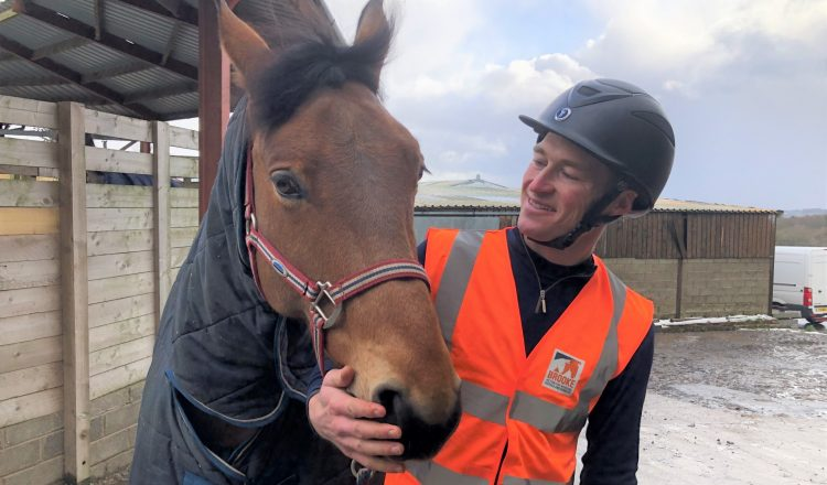 Will and his horse Jimmy 750x440 - Equestrian stars Will Whitaker, Charlotte Dujardin and This Esme support MyHackathon 2020