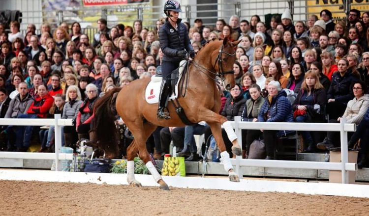 charlotte 3 750x440 - Myerscough College welcomes triple Olympic Dressage gold medallist