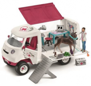 horse club mobile vet van 300x286 - Horse Club Favourites from Schleich