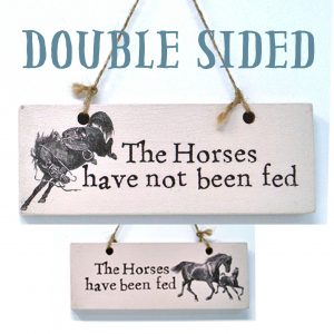 horses fed sign high res 300x300 - Gifts To Gallop Away With from La Di Da Interiors