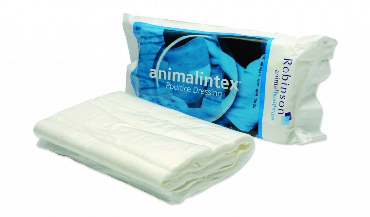 Animalintex is a must have item in any first aid kit. 750x440 - Animalintex® and Summer Ailments advice from Robinson Animal Healthcare