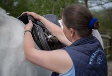 Helen Reader saddle fitting 360x245 - Saddle Fitting Q&A with the Society of Master Saddlers