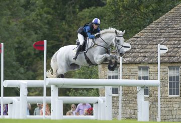 Louisa and King Eider competing at Burghley. 360x245 - Robinson Animal Healthcare chats with Event Rider Louisa Milne Home