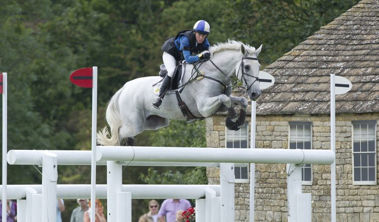 Louisa and King Eider competing at Burghley. 750x440 - Robinson Animal Healthcare chats with Event Rider Louisa Milne Home