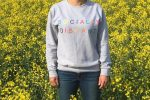 Socially Distant Sweater  150x100 - Colourful new slogan tops from Stitched Equestrian inject a little fun into socially distant living