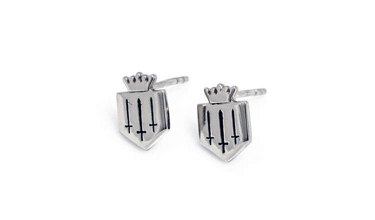 hiho earrings 750x440 - Fairfax & favor goes silver with Hiho