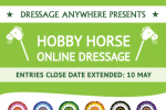 hobby horse extension 150x100 - Extended deadline for the Hobby Horse Online Dressage Competition!