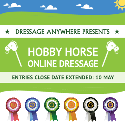 hobby horse extension - Extended deadline for the Hobby Horse Online Dressage Competition!