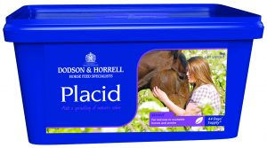 Placid Tub Front 300x167 - Feeding to promote Calm Behaviour with Dodson & Horrell