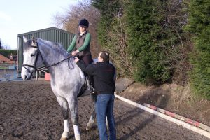 The dressage saddle allows for greater communication 300x200 - Dressage Saddles Discussed