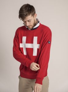 red knit 222x300 - Off Duty 'Polo Chic' reimagined by luxury British Polo Brand
