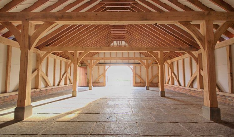 Large Oak Framed Barn for Weddings 750x440 - Indulge your Senses with Classic Oak Framed Stable Complexes & Outbuildings