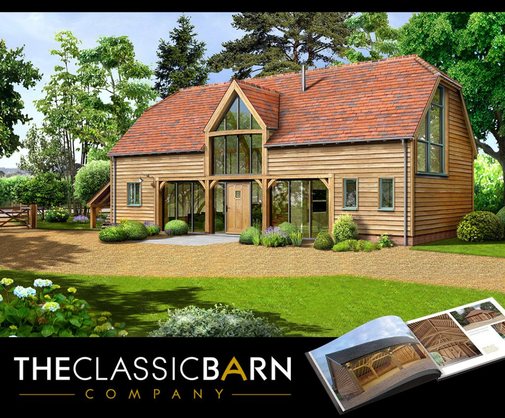 Oak Framed Barn Building 1024x848 - Indulge your Senses with Classic Oak Framed Stable Complexes & Outbuildings