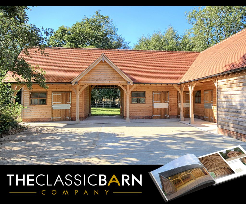 Oak Framed Stable Block 1024x848 - Indulge your Senses with Classic Oak Framed Stable Complexes & Outbuildings