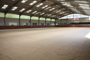 Indoor arena 300x200 - Carl Hester : Keeping busy during lockdown