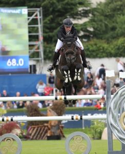 Richard Howley jumping at Dublin Horse Show 2019 244x300 - Supporting your competition preparation with Equine Products