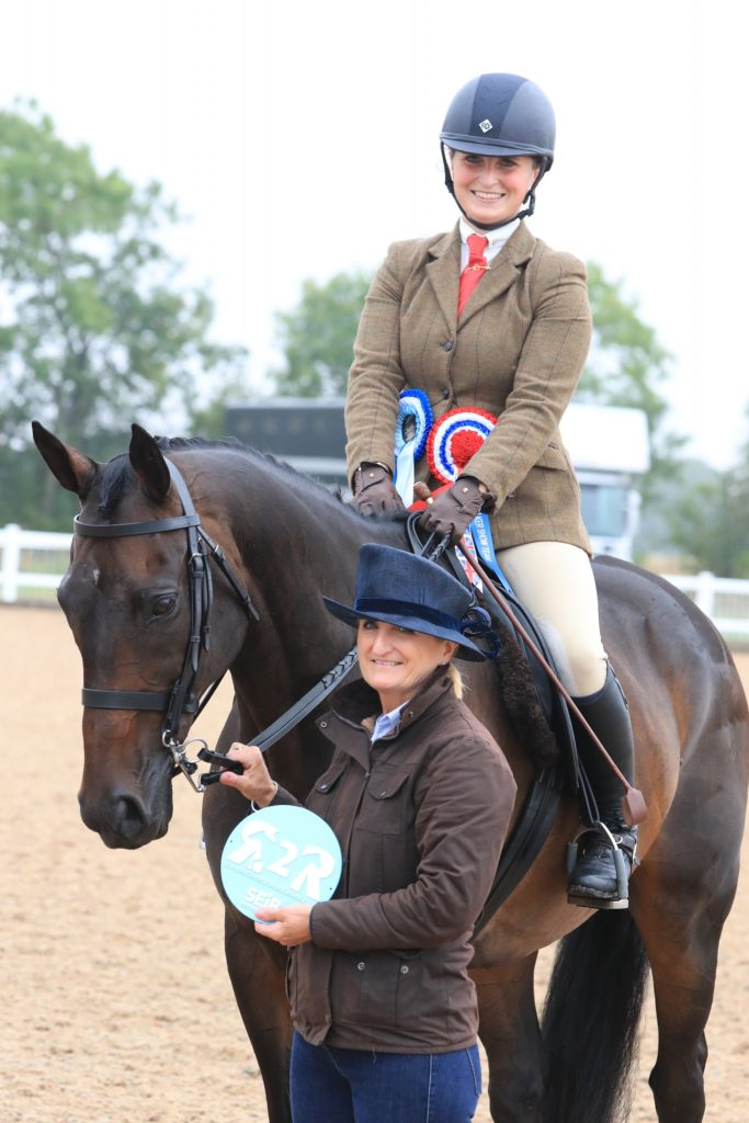 Sophie Brown and Amroth Bay C Equinational 683x1024 - Mumford takes the SEIB Racehorse to Riding Horse Championship at UK National Championships