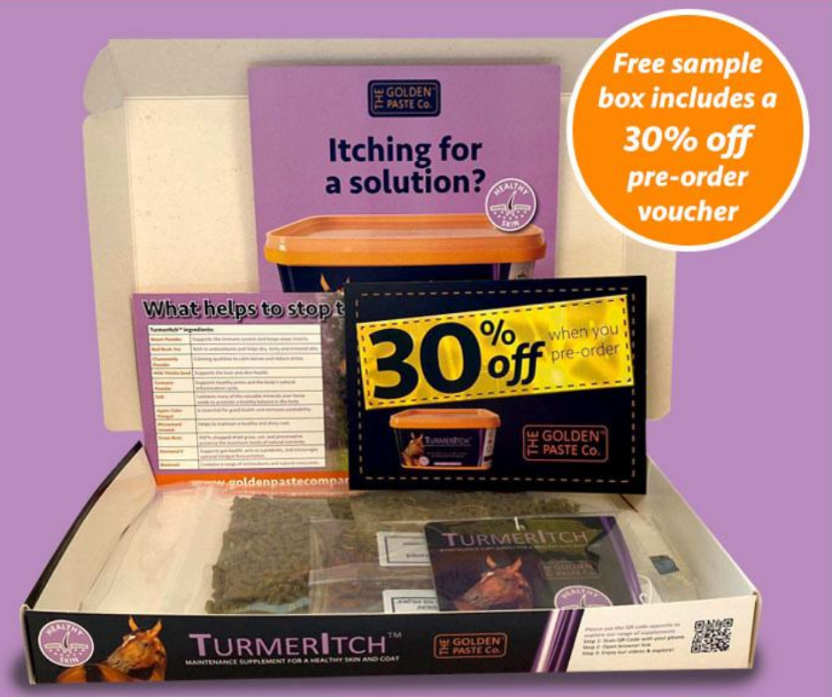 sample box image - New Product - Claim Your Free TurmerItch™ Sample Pack
