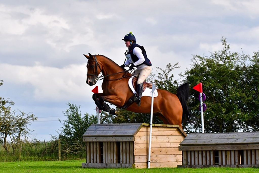 Harriet and Donal out competing. Photo credit Paul Dobson Photography 1024x685 - All Systems Go at HMB Equestrian