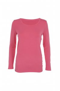 Pink scoop neck base layer  200x300 - Ginger & Jardine to help raise money for breast cancer charity during October