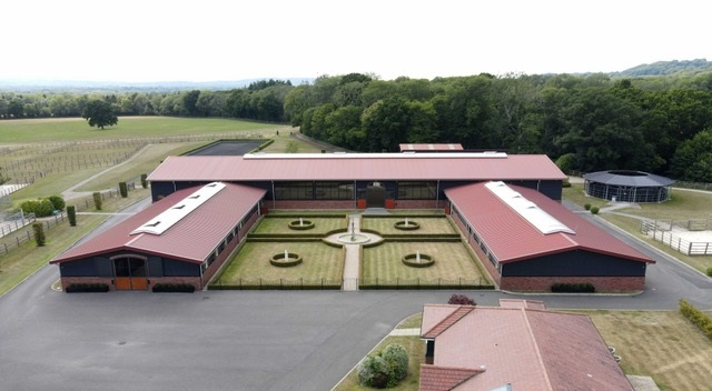 Stables - Olympic dressage hopeful pairs with specialist equestrian construction company to design new world-class facility in the south of England