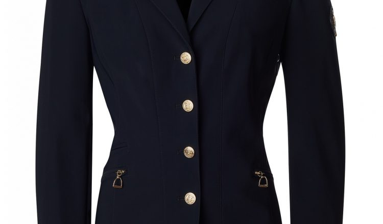 The Competition Jacket Ink Navy 00001 750x440 - Holland Cooper launch their first equestrian competition jacket