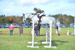Eliza Stoddart and De Pleasure in the show jumping 150x100 - Eliza Stoddart Defends Five-Year-Old Championship at Oasby