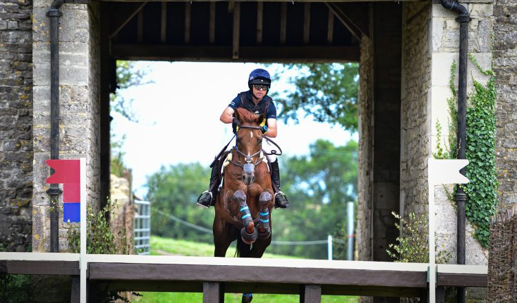 Ben Hobday jumping at Gatcombe  750x440 - Equine Products UK celebrates 40 years of supporting horse owners and trainers around the world