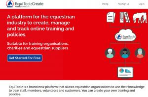Equitoolz website screen grab 300x197 - Free CPD training from EquiToolz
