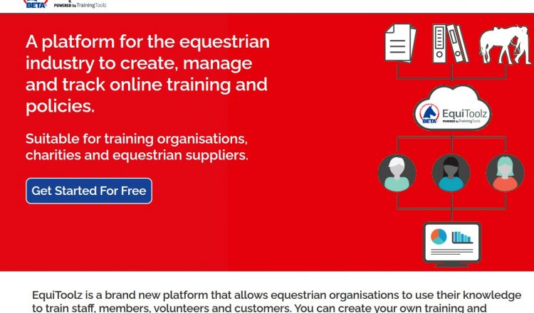Equitoolz website screen grab 750x440 - Free CPD training from EquiToolz