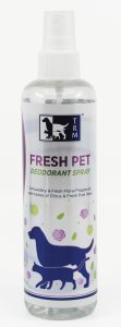 Fresh Pet deodarant spray hi res  111x300 - Horse owners and stockists can now add pet nutrition and care products to their Equine Products UK order