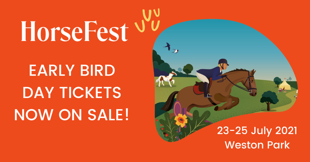 DAY TICKETS NOW ON SALE FINAL 1024x536 - Get Your HorseFest Fix This Summer Day Tickets Now On Sale