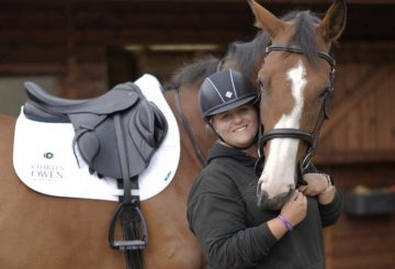 Laura Goodall JSW BA 3 360x245 - Equestrian firm announce partnership with International para showjumper!
