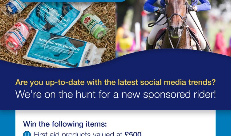 RAHC Sponsored Rider Search Social Media 750x440 - Robinson Animal Healthcare Launch Search for Sponsored Rider