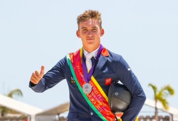 Jack Whitaker wins Individual Silver at the Youth European Championships