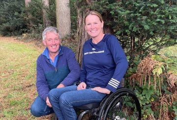 Claire and Stuart rotated e1633110909514 360x245 - Claire Lomas Returns to Osberton International