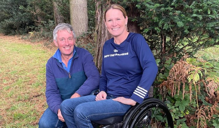 Claire and Stuart rotated e1633110909514 750x440 - Claire Lomas Returns to Osberton International
